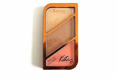 Rimmel London Sculpting Palette By Kate - Shade: 002 Coral Glow