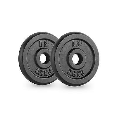 New Sports Ipb 2.5 Kg Weight Plates Pair 30 Mm Strength Training Home Fitness