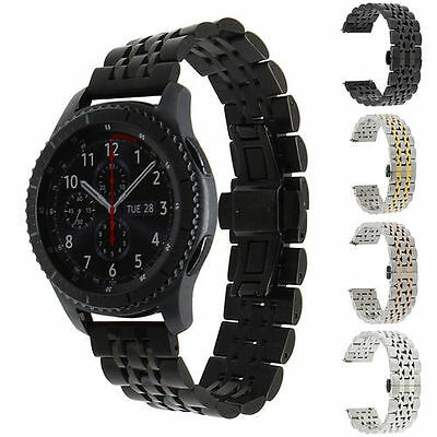 20mm Quick Release Watch Band Stainless Steel  Strap for Samsung Gear S2 Classic