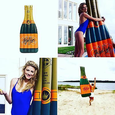 Prosecco  Champagne Bottle Swimming Pool Float LILO Inflatable Raft Adult Hen Do