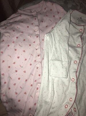 Next Baby Girl Sleepsuits Up To 3 Month