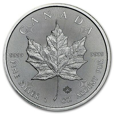 1 oz Argento 999 Maple Leaf + Capsula Rigida -1 oz Silver Maple Leaf + Rigid cap