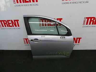 2013 CITROEN C3 5 Door Hatchback Silver O/S Drivers Right Front Door