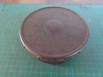 Vintage ALVEY Bakelite fishing tackly box, screw lid with inner tray