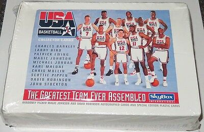 1992 Skybox Dream Team USA Basketball 36-Pack Box Brand New & Sealed Look for MJ
