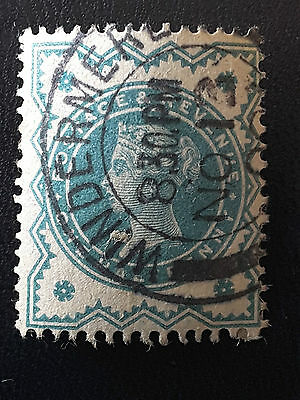 Great britain postage stamp Queen Victoria one half penny 1900