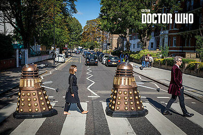 Doctor Who Poster Pack Abbey Road 61 x 91 cm (5) Pyramid International Posters