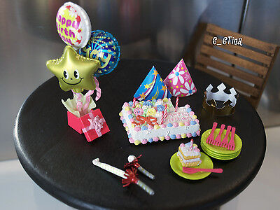 Re-ment Mini sweets N. 3: Happy birthday surprise Barbie size