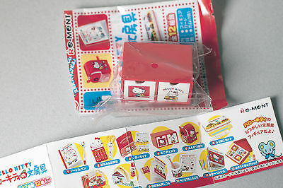 Re-ment Sanrio Hello Kitty Stationery Set 4 Barbie size