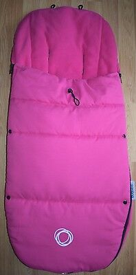 Bugaboo Universal Toggle Footmuff - Pink - Very Good Condition