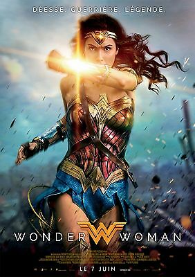 Sticker Autocollant/poster A4 Film Movie Wonder Woman