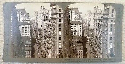 "Antique Photography - Underwood Stereoscopic Card: ""From Empire Building"""