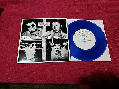 "The Blood ‎– Stark Raving Normal 7"" Punk Oi! Skinhead NEW BLUE"