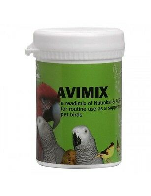 Vetark Avimix 50gm vitamins & minerals supplement for birds parrots