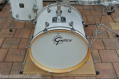 "GRETSCH 18"" CATALINA CLUB WHITE MARINE PEARL WMP BASS DRUM for YOUR SET! #A139"