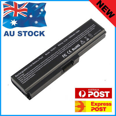 Laptop Battery for TOSHIBA Satellite C600 C665 C670 C680 L745 L750 PA3817U-1BRS