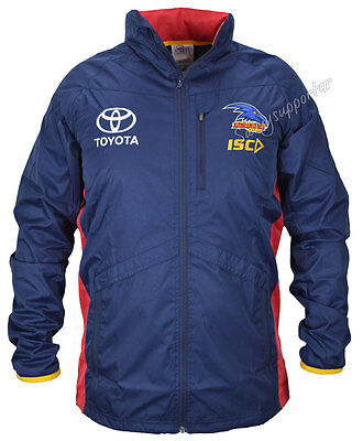 Adelaide Crows 2017 AFL Mens Wet Weather Jacket Sizes S-5XL BNWT