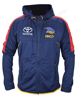 Adelaide Crows 2017 AFL Mens Workout Hoody Jacket Sizes S-5XL BNWT