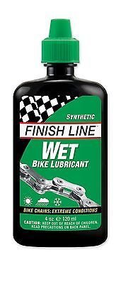 FINISH LINE Wet Kettenol Lube Cross Country Lubricant- 120 ml Bike Chain Cleaner