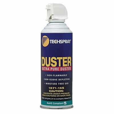 Techspray 1671-15S Gas Duster, Aerosol, 15Fl.oz