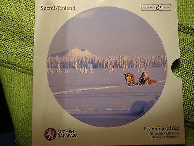 Mint Of Finland Christmas Coin Set New