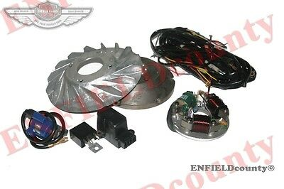6V To 12V Stator  + Flywheel Conversion Kit Vespa Vbb Vba Vna Super Sprint @aud