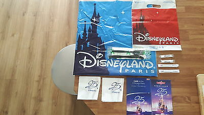 disneyland paris 25th anniversary collectables