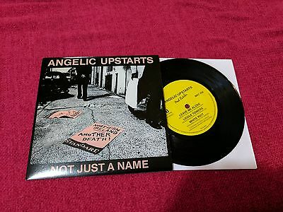 "Angelic Upstarts ‎–  Not Just A Name 7"" Punk Oi! Skinhead NEW"
