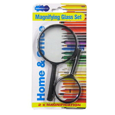 Magnifying Glasses - Pack of 2 Sizes