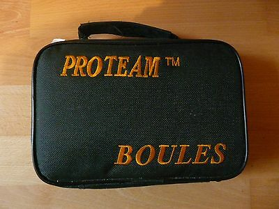 PROTEAM Boules Game with Instructions, New with tag
