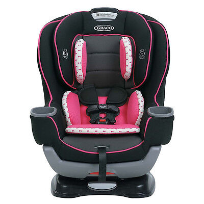 Graco Extend2Fit Convertible Car Seat Kenzie New