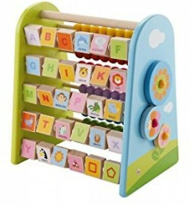 Sevi Abacus And Alphabet Educational Game Kids Numbers Learning Play Set New