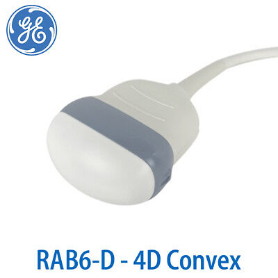 GE RAB6-D Convex Probe - 3D/4D Transducer for Volumetric Ultrasound