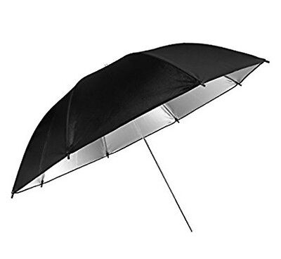 "pangshi Professional 33"" Black&Silver Reflector Umbrella for Photography Studio"
