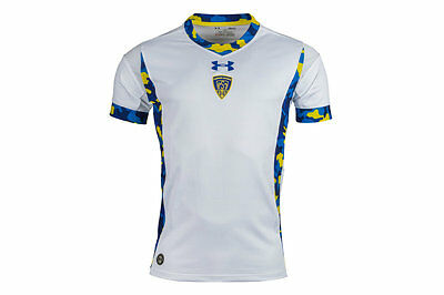 Under Armour Clermont Auvergne 2015/16 Alternate S/S Replica Rugby Shirt