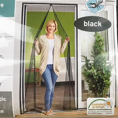 Magnetic Mosquito Door Screen Fly Insect Bug Net Mesh Guard Curtain Easy to Fit