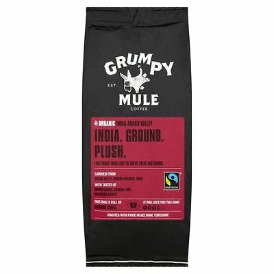 Grumpy Mule Organic India Araku Ground Coffee 227g