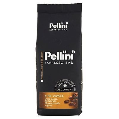 Pellini No.82 Vivace Roasted Coffee Beans 500g
