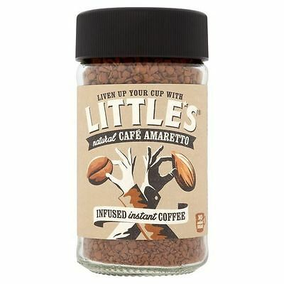 Little's Cafe Amaretto Flavour Infused Instant Coffee 50g