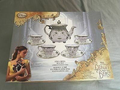 Beauty and the Beast Live Action Limited Edition Fine China Tea Set