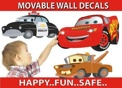 Cars Movable Wall Stickers