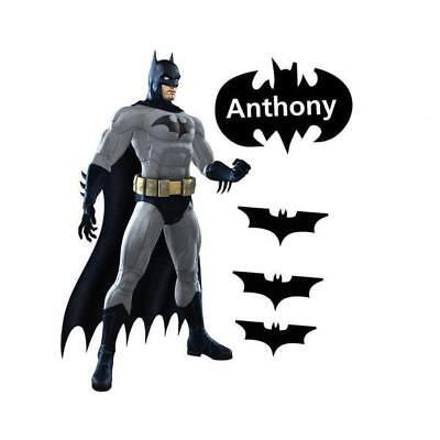 Personalized Batman Movable Wall Stickers