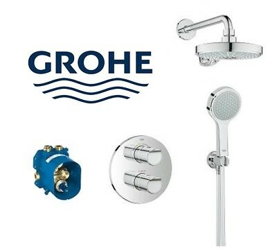 Grohe Grohtherm 2000 Perfect Shower Set.Grohe Grohtherm 2000 New Thermostatic Shower Mixer