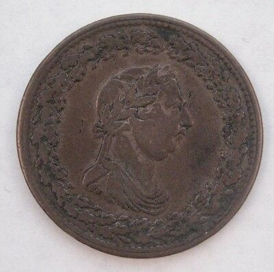 1812 Lower Canada One Penny Token
