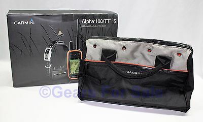 Garmin Alpha 100 Combo with TT15 Collar GPS Dog Tracking System (010-01041-50)