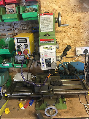Warco Milling Drilling Machine Variable Speed 230v Mill WM-16 VS Mill 3216