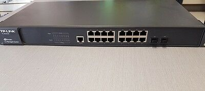 TP-LINK JetStream 16-Port Gigabit L2 Managed Switch with 2 Combo SF (TL-SG3216)
