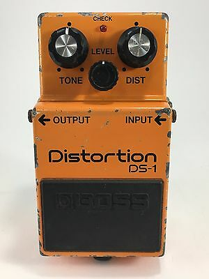 Boss DS-1 Distortion Vintage Made In Japan Guitar Effect Pedal 1986 TA7136AP