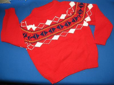 Original Vintage Child's Jumper