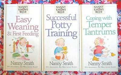 3 Nanny Knows Best Books (Weaning / Potty Training / Temper Tantrums) bundle